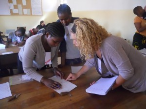 English Volunteer in Africa