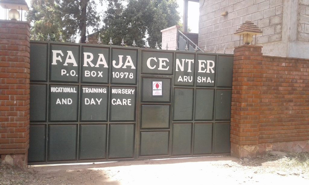The Faraja Center Gate - Vocational Training and Day Care